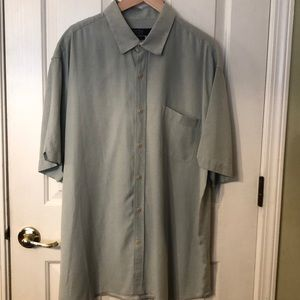 Nat Nast Mint Green Short Sleeve Shirt 2XL
